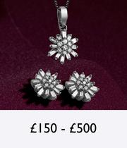 Christmas Gifts for £150 to £500 at Ernest Jones