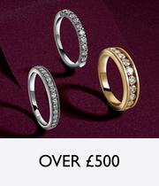 Christmas Gifts for over £500 at Ernest Jones