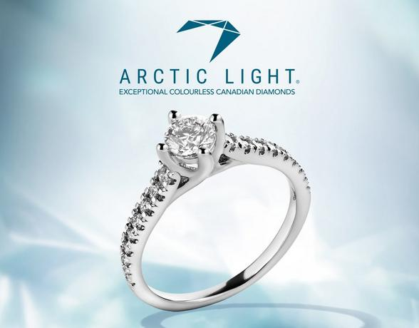 Arctic Light engagement rings at Ernest Jones
