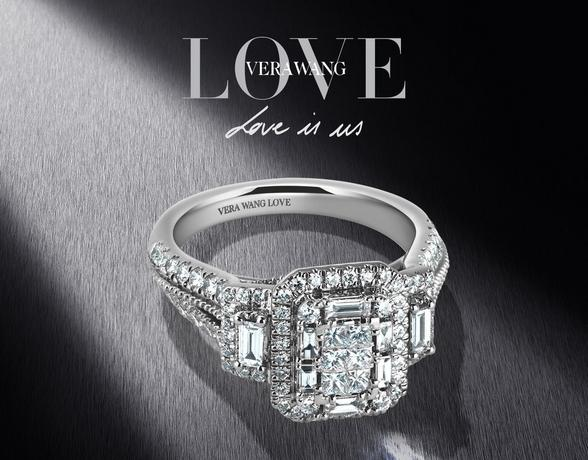 Vera Wang engagement rings at Ernest Jones