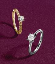 Diamond Ring Christmas collection at Ernest Jones