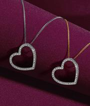Diamond Necklaces in the Christmas collection at Ernest Jones