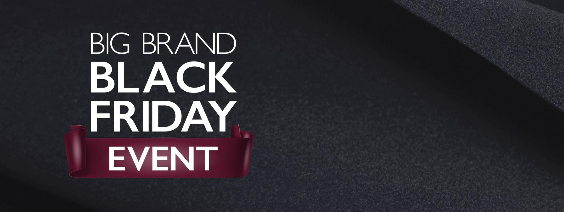 Big Brand Black Friday Event