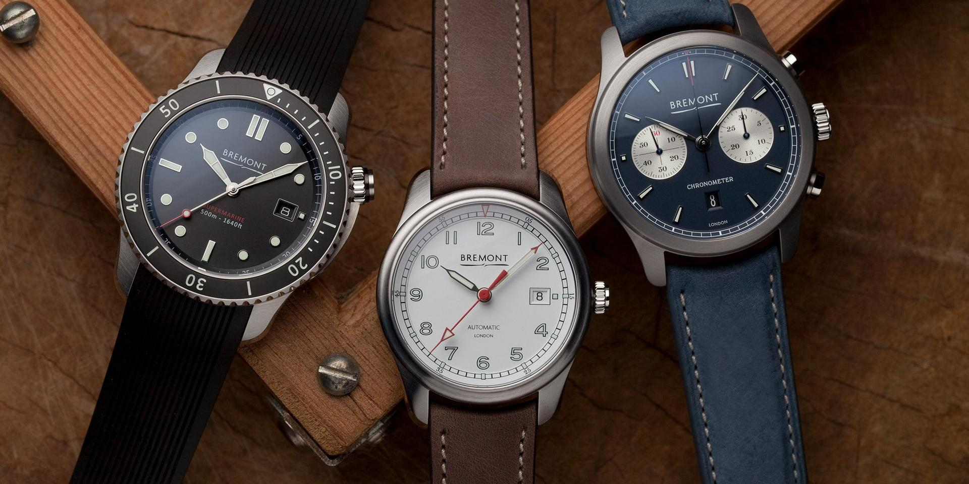Bremont Watch Collection