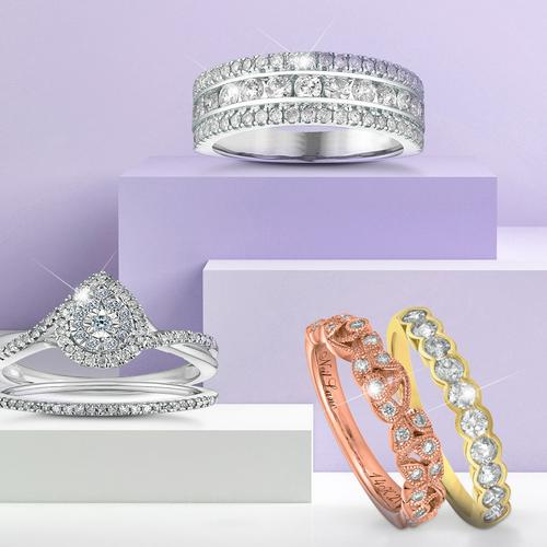 Stacking Wedding and Engagement Rings