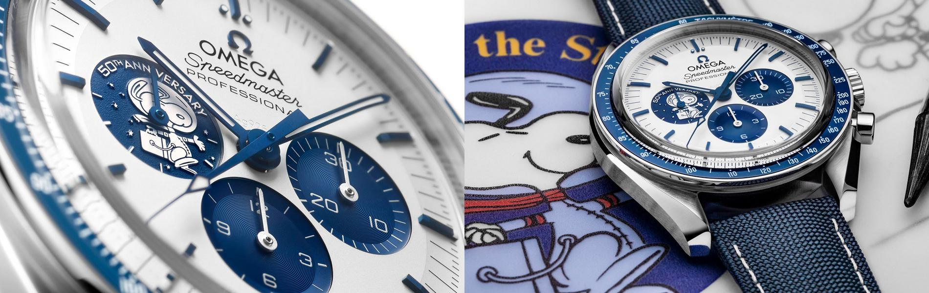 OMEGA 2020 Snoopy Speedmaster Watch