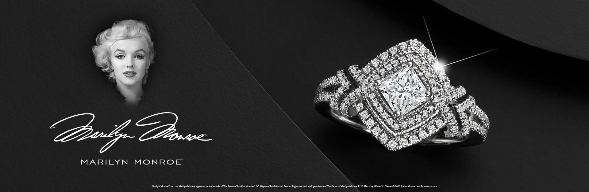 Marilyn Monroe Diamond Jewellery Collection - available online and in-store at Ernest Jones