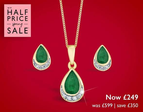 Up to half off jewellery at Ernest Jones
