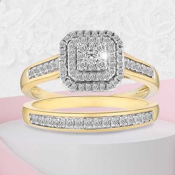square stone engagement rings