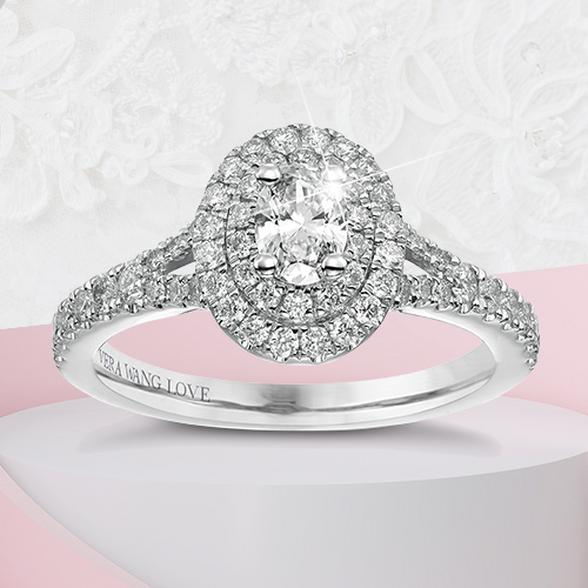 oval stone engagement ring