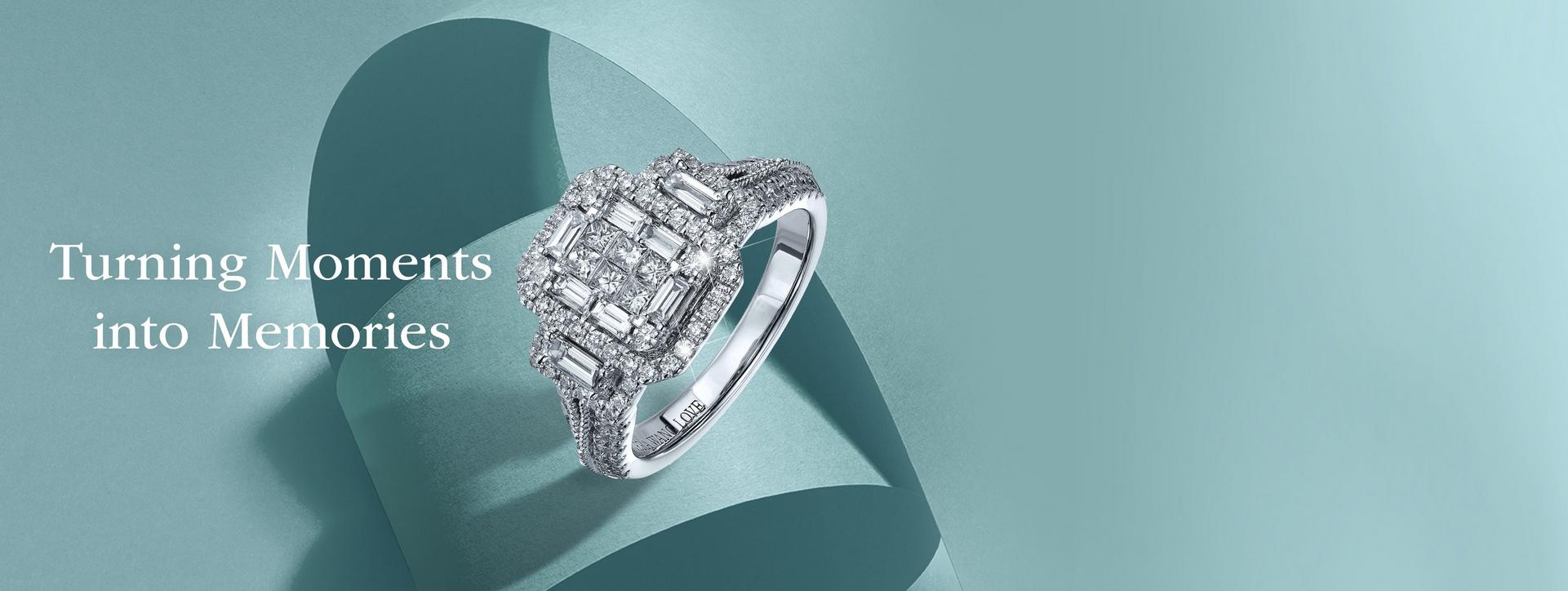 Up to 50% off diamond jewellery and engagement rings