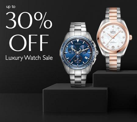 Up to 30% off luxury watch sale