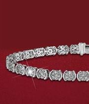 Shop for a gorgeous new bracelet from Ernest Jones - browse the range of diamond-set tennis bracelets, beautiful charm bracelets, and sophisticated silver adjustable bracelets - up to 50% off