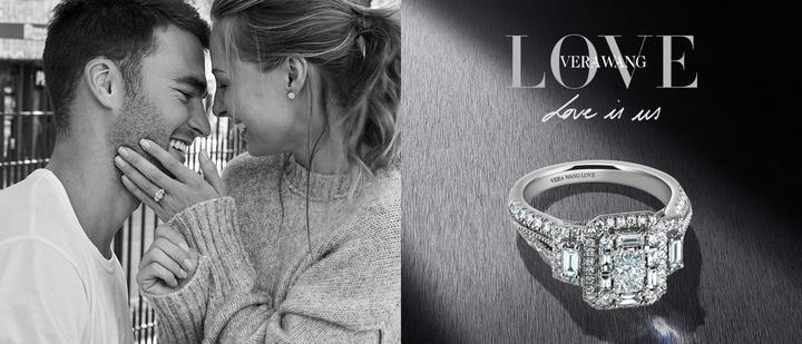 Shop for Vera Wang LOVE diamond and sapphire rings and jewellery - now in the up to half price sale at Ernest Jones