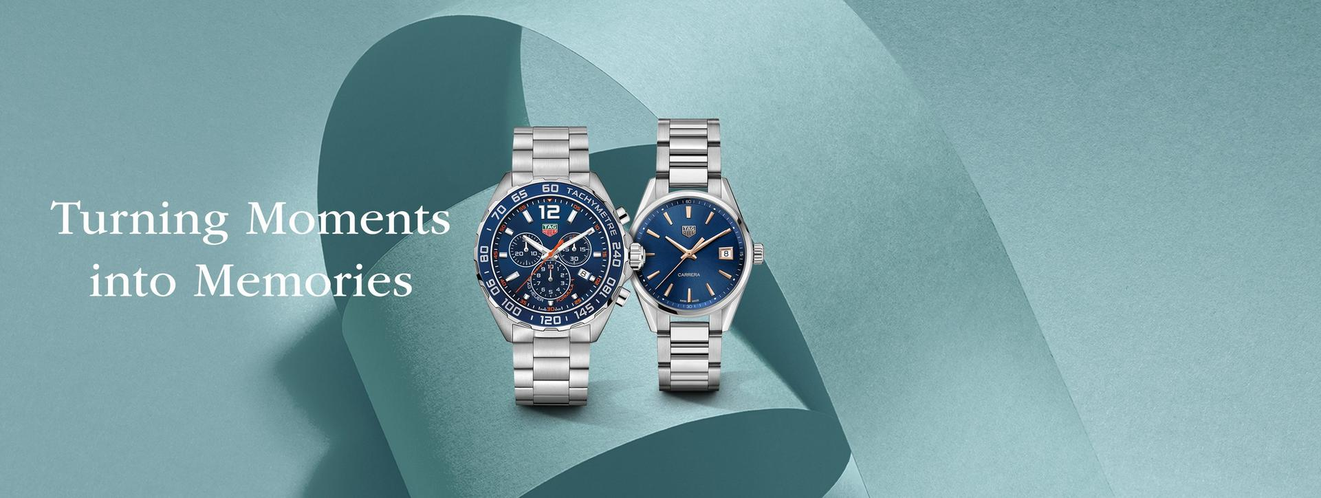 Find the perfect Valentine's gift for your loved one from our collection of watches from iconic brands such as BOSS, Michael Kors, TAG Heuer and Omega