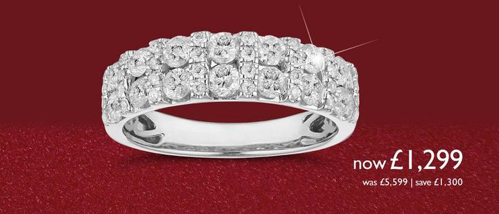 Eternity Rings - Celebrate anniversaries at Ernest Jones
