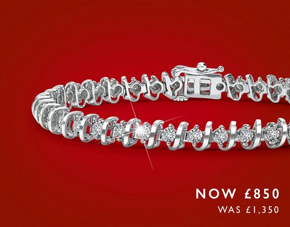 Up to half off bracelets at Ernest Jones