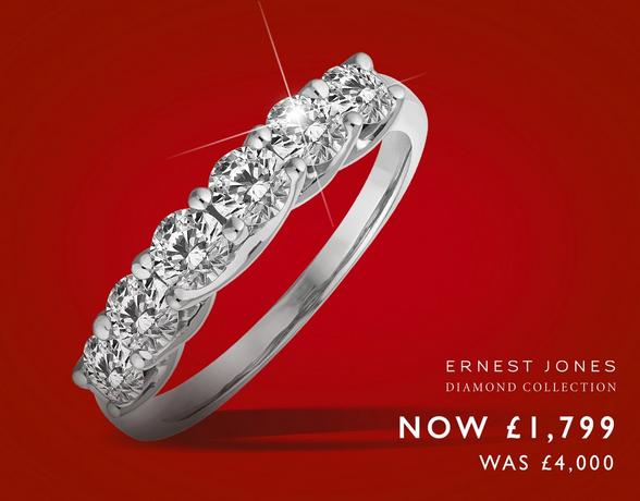 Eternity Rings from Ernest Jones