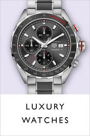 Luxury watches at Ernest Jones