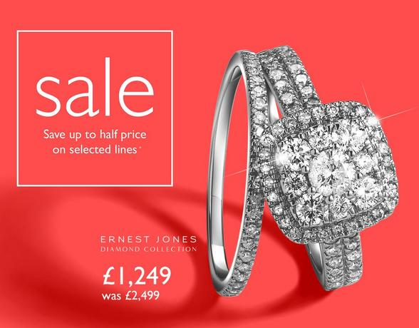 Bridal Sets from £1,249 at Ernest Jones