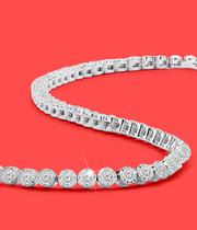 Diamond Bracelets at Ernest Jones - now up to 50% off