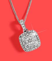 Diamond Necklaces at Ernest Jones - now up to 50% off