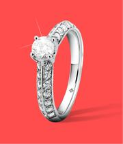 Diamond Rings at Ernest Jones - now up to 50% off