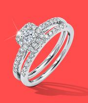 Bridal Set Engagement Rings at Ernest Jones - now up to 50% off