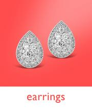 Up to half price earrings at Ernest Jones