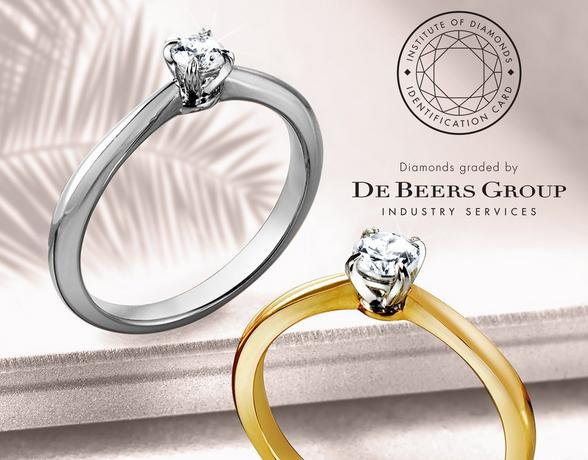 De beers Collection at Ernest Jones