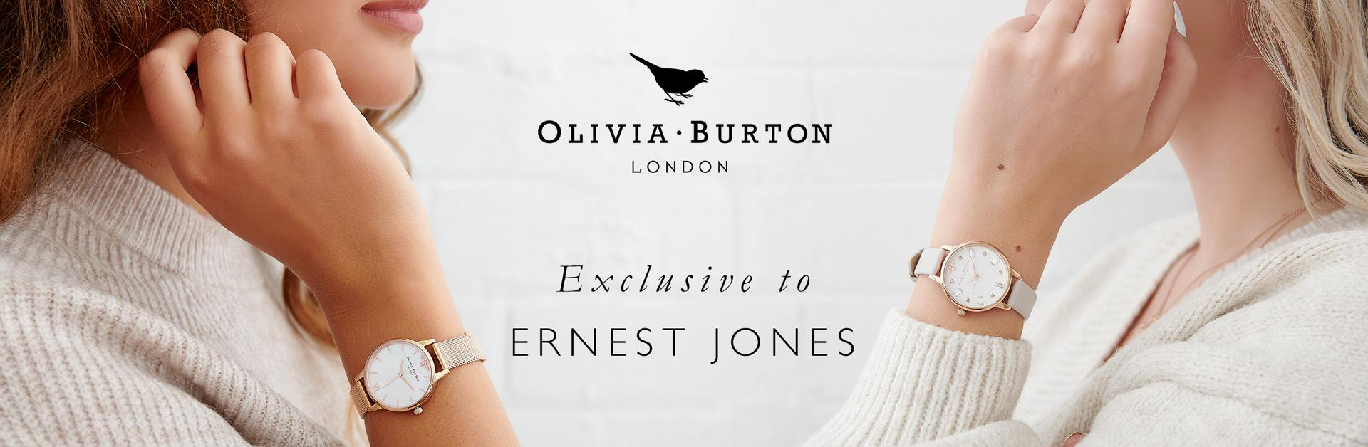Olivia Burton Exclusive to Ernest Jones