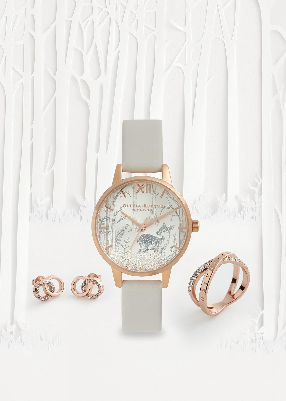 Olivia Burton Watch, ring and earrings