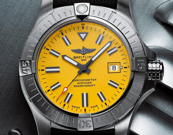 Breitling Avenger at Ernest Jones