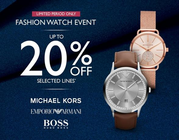 Fashion Watch Event - ideal gifts for Christmas at Ernest Jones