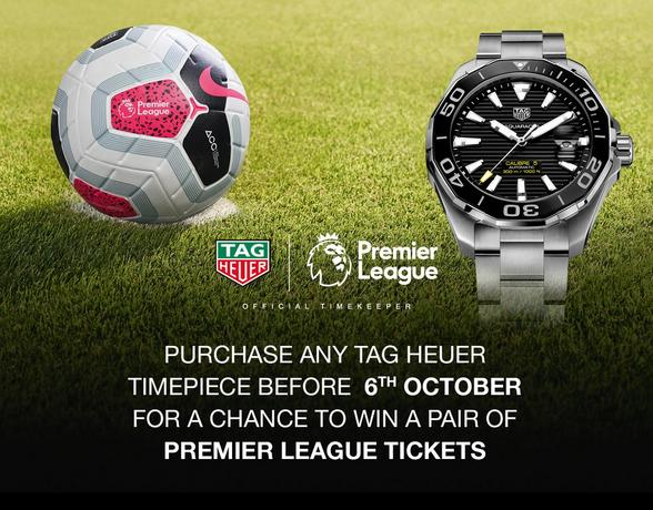 TAG Heuer Premier League Ticket Competition