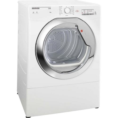 Hoover HLV8LG Freestanding Vented Tumble Dryer with 8KG Load Capacity in White