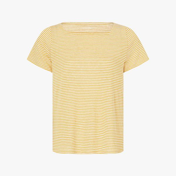 Eileen-Fisher-Square-Neck-Striped-Top
