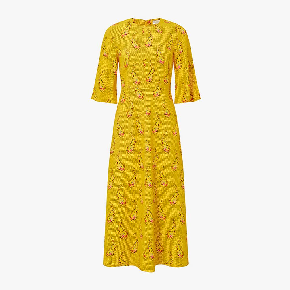 Stine Goya Kirsten Paisley Dress, £280