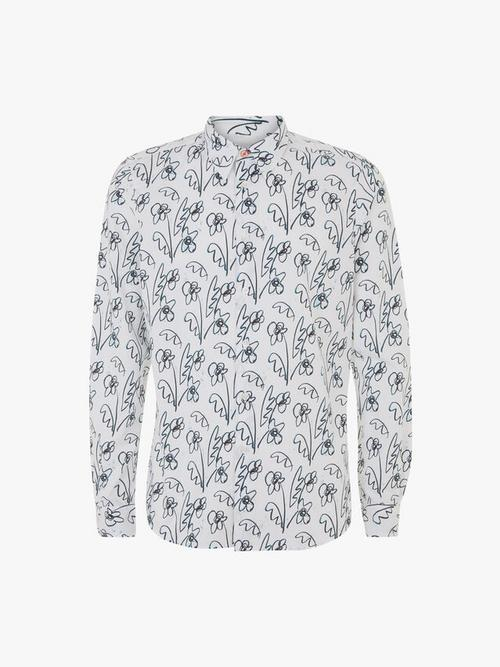 PS Paul Smith Thistle Print Tailored Fit Shirt