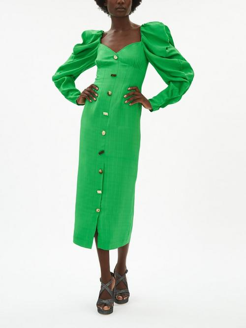 Rejina-Pyo-Betty-Puff-Sleeve-Dress