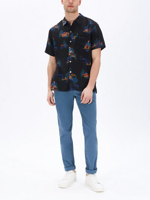 PS Paul Smith UFO Motel Print Shirt