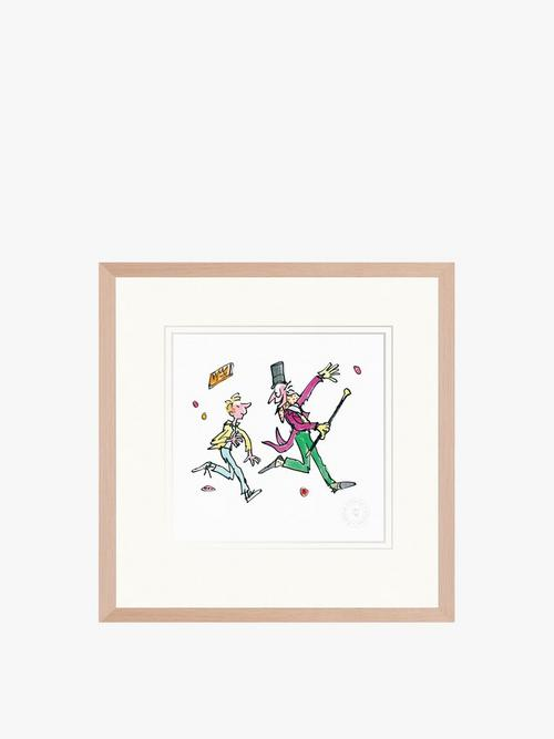 Charlie and the Chocolate Factory Print Fenwick
