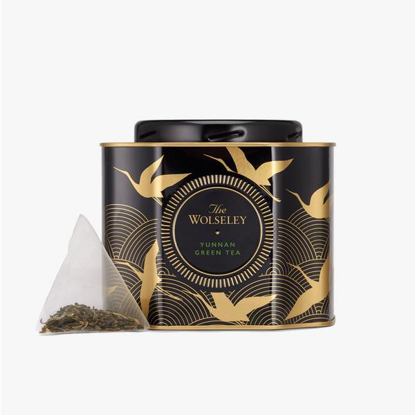The Wolseley Green Tea Pyramids