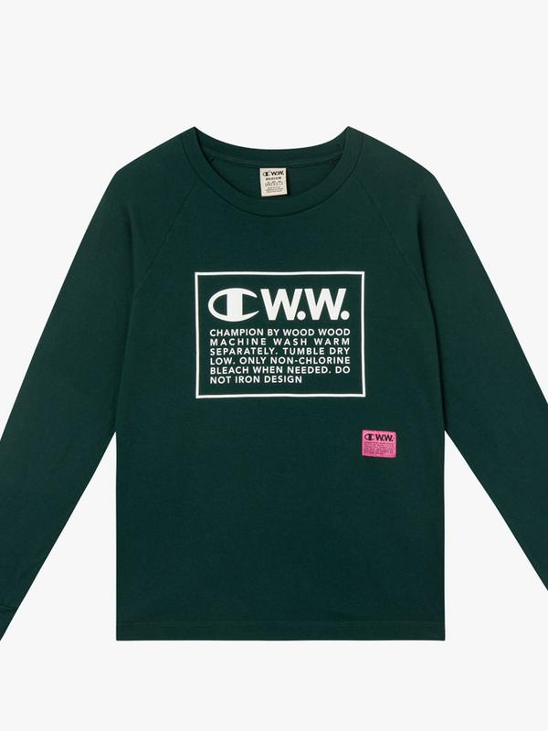 Champion x Wood Wood Rodney Long Sleeve Top
