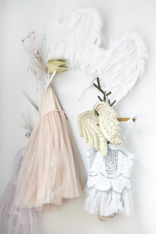 Dresses with wings