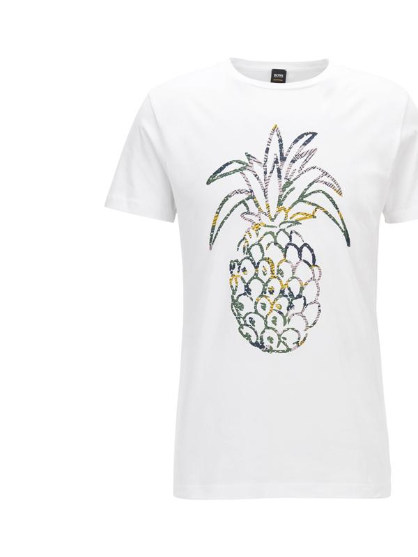Hugo Boss Pineapple Print T-Shirt