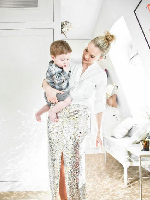 Marissa with her youngest son, Jake