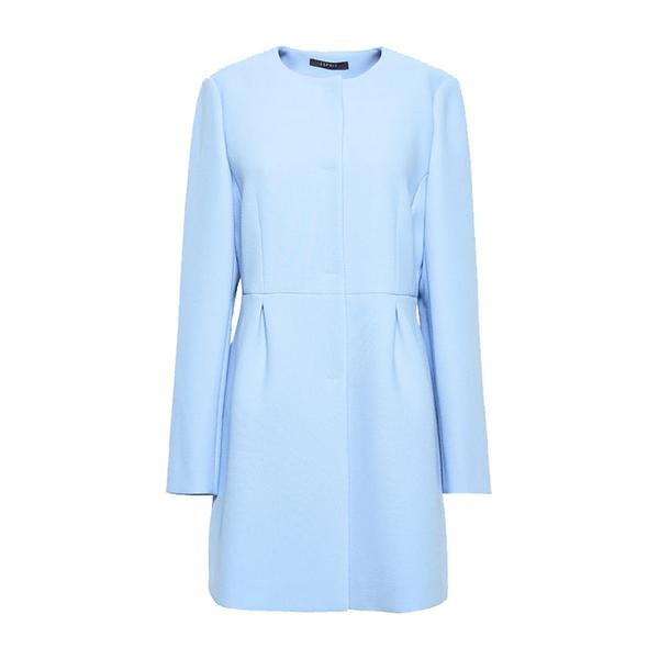 Esprit Long Tailored Jacket in Light Blue