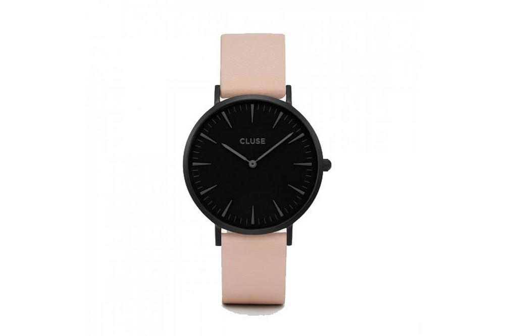 Cluse Pink Strap Watch