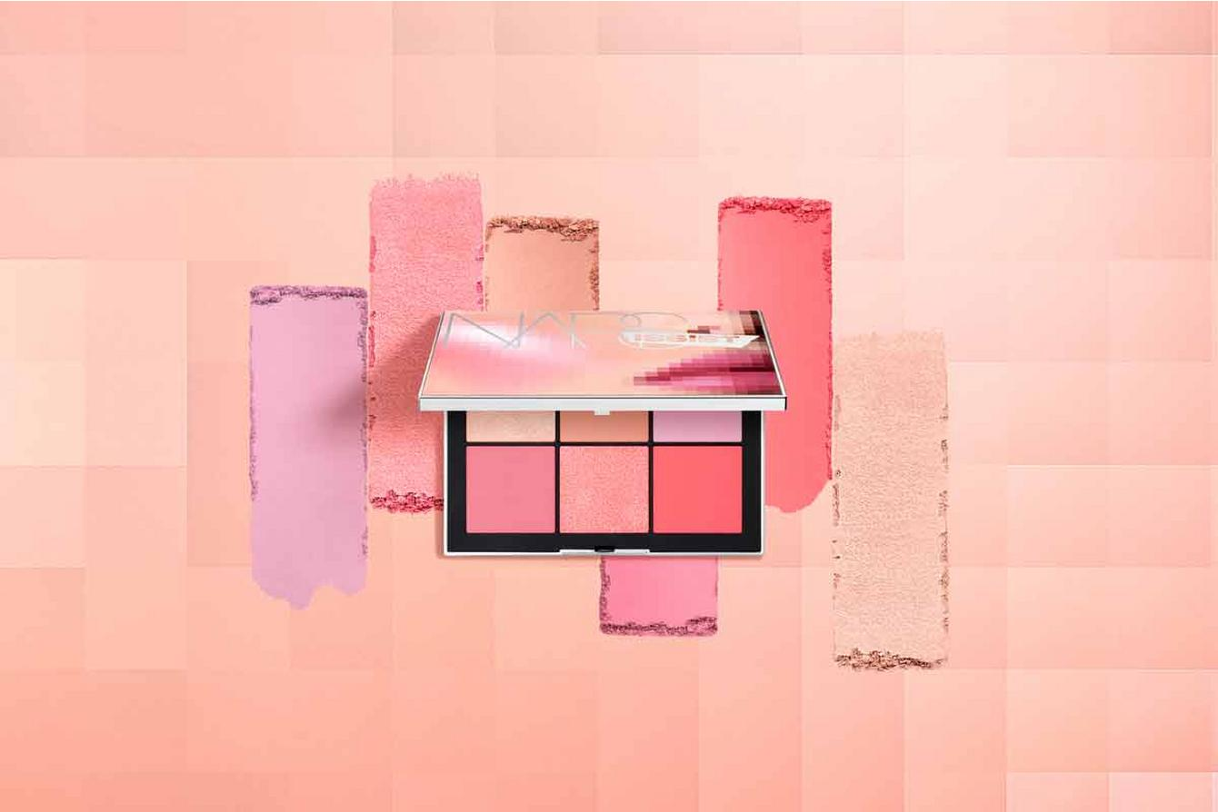 Narsissist Wanted Cheek Palette with pink shades
